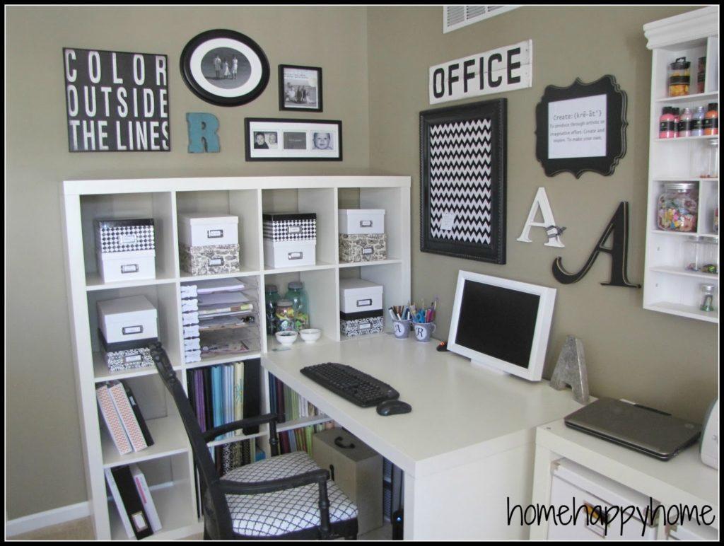 7 consejos para organizar y decorar tu espacio de trabajo smartyfun - Oficina de trabajo ...