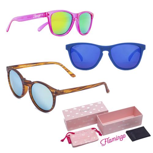 Gafas Luce Sol Del Tiempo Buen Con De Tus Flamingo La Llegada kwn80OP