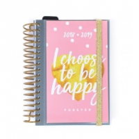 "Agenda Escolar ""I choose to be happy"""