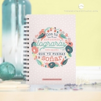 "Cuaderno ""Con tu esfuerzo"" de The Great Moustache"