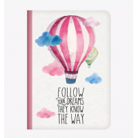 "Cuaderno ""Follow your Dream"" A5 de LEGAMI"