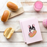 "Cuaderno ""Hot Dog"""