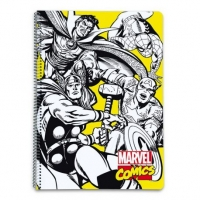 "Cuaderno ""Marvel Comics"" A4"