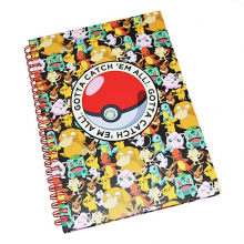 "Cuaderno ""Pokemon"" A5"