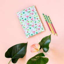 "Cuaderno ""Tropical Flamingos"""