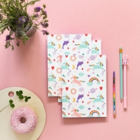 "Cuaderno ""Unicorns"""
