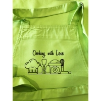 "Delantal Adulto ""Cooking with Love"""