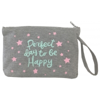 "Estuche Neceser ""Perfect day to be Happy"""