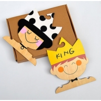 "Perchas ""King & Queen"" (Pack de 2 un. a elegir)"