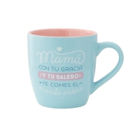 "Taza ""Mamá, con tu gracia y tu salero"" de Mr. Wonderful"
